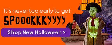 Halloween. Shop Now.