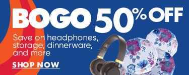 BOGO 50% Off. Shop Now