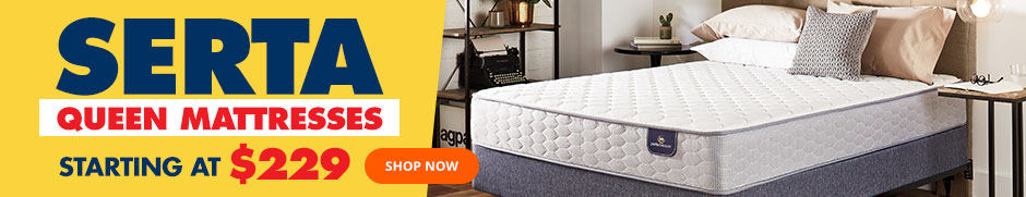 Serta Queen Mattresses Starting at 229. Shop Now.