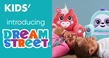Introducing Dream Street. A complete collection to create a sleepy dream land for your child. Exclusively at Big Lots! Shop Now