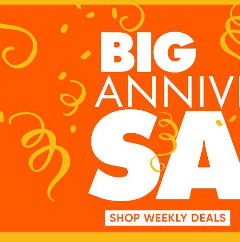 BIG Anniversary Sale. Shop weekly deals. Shop Mattresses.