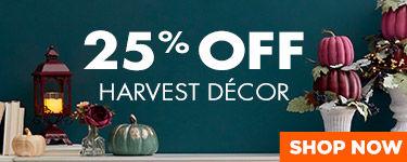 20 Percent Off Harvest Decor