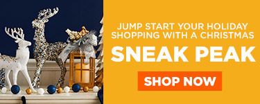 Jump start your holiday shopping with a Christmas Sneak peak. Shop now.