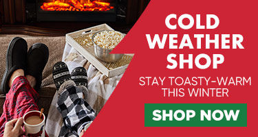 Cold weather shop Stay toasty warm this winter. Shop Now