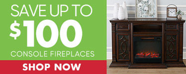 Save up to $100 Wall mount and 72 inch console fireplace. Shop Now.