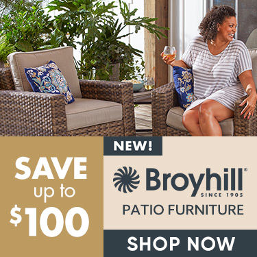 Exclusively at bigt lots Broyhill. Gegendary quality. Undeniable value. Shop Now.