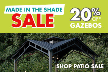 20 percent off Gazebos. Shop Patio Sale.