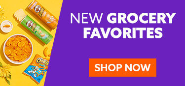 New grocery favorities. Shop Now.