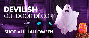 Devilish outdoor decor. Shop all fall