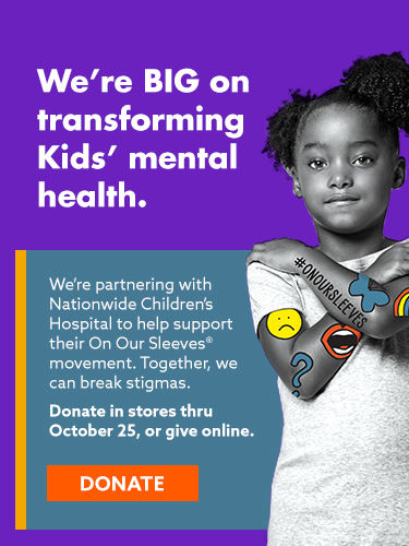 Were big on transforming kids mental health. Donate