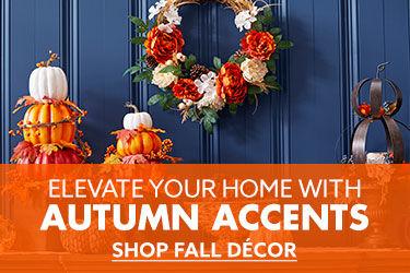 Autumn accents shop fall decor
