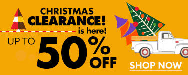 50% Off Christmas Clearance