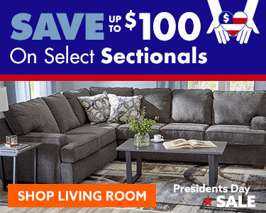 save up to 100 on select sectionals shop now