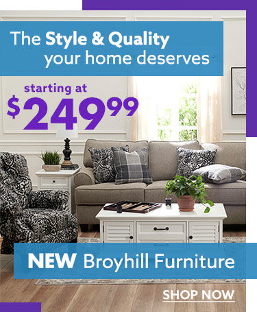 Broyhill furniture shop patio