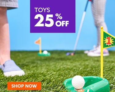 Toys 25 percent off