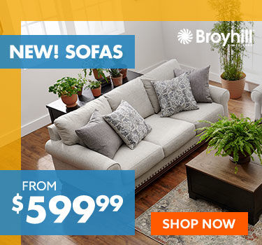 Sofas from 599