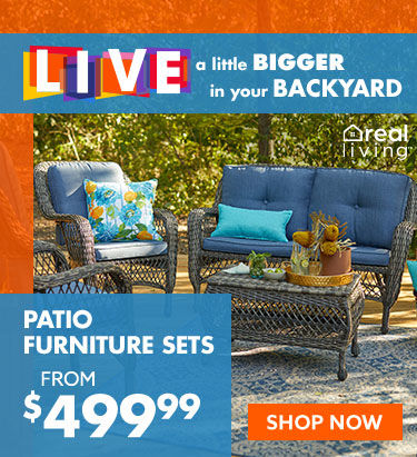 Patio furniture sets from 499