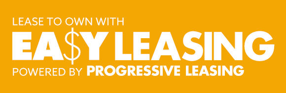 Easy Leasing, powered by progressive leasing. $49 Initial Payment.