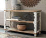 ALWYNDALE WHITE SOFA TABLE