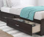 ANDOVER OAK TWIN MATES BED