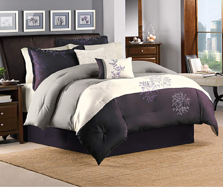APRIMA 10PC BIAB QUEEN MURPHY GREY/PLUM