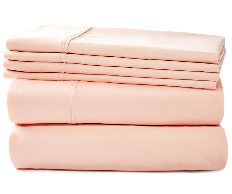 APRIMA 800TC BLUSH SHEETS QUEEN