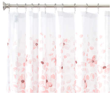 Non Combo Product Selling Price 120 Original List 1200 Aprima Haven Pink White Floral Fabric Shower Curtain
