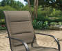 ASPEN 6 PK PADDED FABRIC SPRING CHAIR