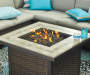 AUGUSTA SQUARE FIRE PIT TABLE