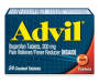 Advil® (24 Count) Pain Reliever/Fever Reducer Coated Tablet, 200mg Ibuprofen, Temporary Pain Relief