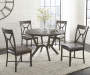 Alamo Gray Dining Table and Chairs Collection Lifestyle