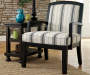 Alenya Stripe Accent Chair lifestyle