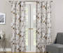 Alexa Birch Botanical Room-Darkening Single Curtain Panel 63 inches Lifestyle