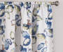 Alexa Multi-Color Botanical Room-Darkening Single Curtain Panel 84 inches Cropped Lifestyle