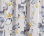 Alexa Yellow & Blue Botanical Room-Darkening Single Curtain Panel 84 inches Swatch