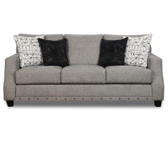 Broyhill Alexandria Gray Sofa Lots