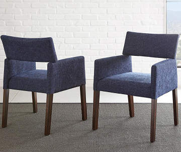Non Combo Product Selling Price 22999 Original 0 List Amalie Navy Blue Upholstered Dining Chairs