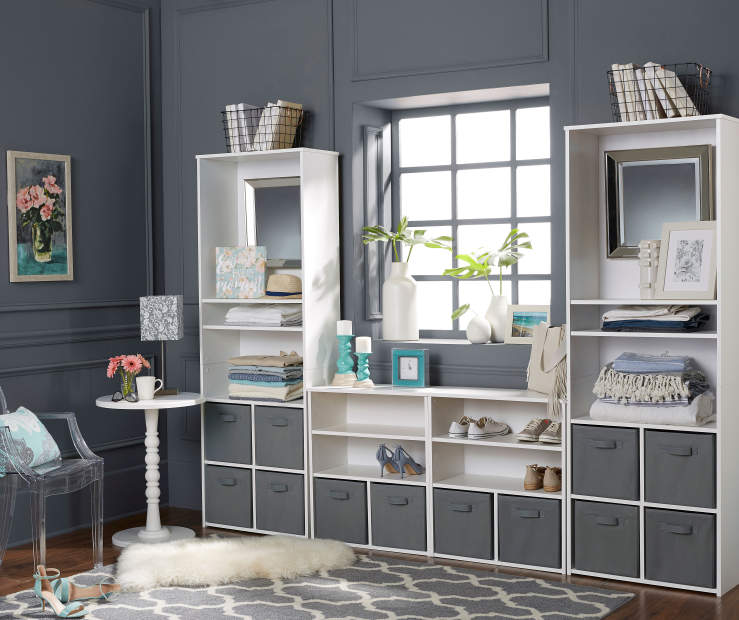 Ameriwood System Build White Cube Organizers Big Lots