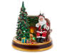 Animated Light and Sound Story Telling Santa silo front