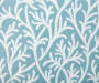 Aqua Coral Outdoor Throw Pillow 24 inches by 24 inches Swatch