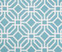 Aqua Sampson Tile and Stripe Seat Pads  2Pack swatch