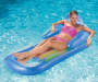 Aqua and Blue Inflatable Relaxing Pool Loungers  2 Pack lifestyle