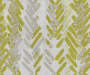 Aria Green & Gray Modern Herringbone Blackout Single Curtain Panel 95 inches Swatch