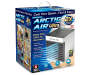 Artic Air Ultra Evaporative Air Cooler Angled Front View Silo Image Product Box