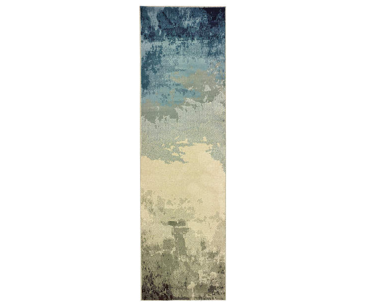 Ashton Blue Runner 2FT3IN x 7FT6IN Silo Image
