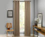 Atticus Clay Blackout Curtain Panel 108 Inches Window View