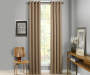 Atticus Clay Blackout Curtain Panel 84 Inches Window View