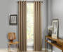 Atticus Clay Blackout Curtain Panel 95 Inches Window View