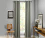 Atticus Sage Blackout Curtain Panel 108 Inches Window View