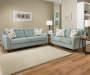 Avalon Teal Loveseat